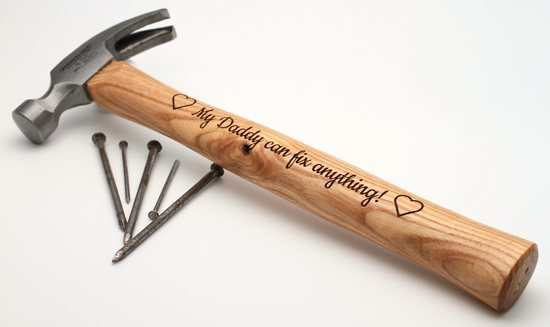 Personalised Engraved Hammer